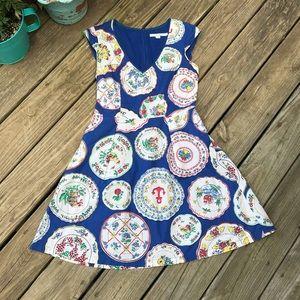 Boden Plate Dress